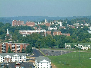 Athens Ohio Skyline
