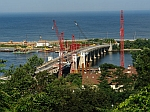Sandy Hook Bridge work