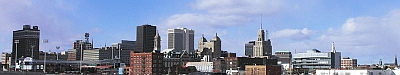 Buffalo New York Panorama