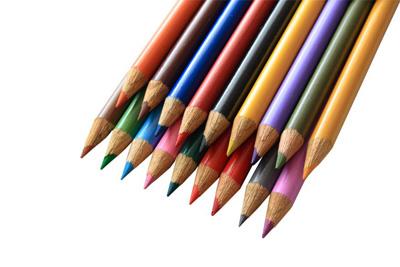 lapbook supplies colored pencils