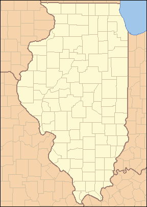 Illinois Geography Counties