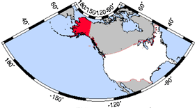 USA Geography Alaska