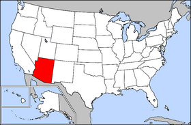USA Geography Arizona