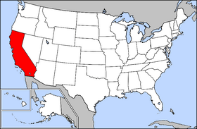 USA Geography California