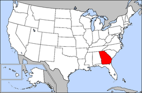 USA Geography Georgia