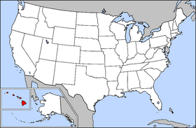 USA Geography Hawaii