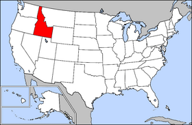 USA Geography Idaho