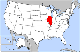 USA Geography Illinois