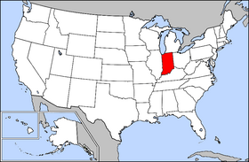 USA Geography Indiana