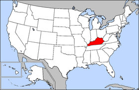 Usa Geography Kentucky
