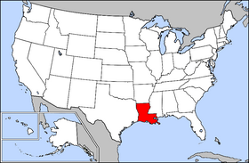 USA Geography Louisiana