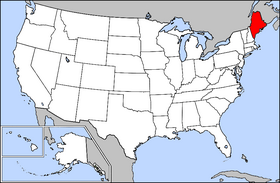 USA Geography Maine