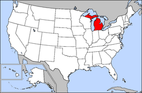 USA Geography Michigan