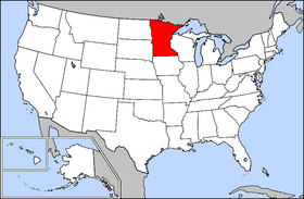 USA Geography Minnesota