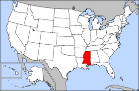 USA Geography Mississippi