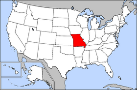 USA Geography Missouri