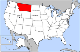 USA Geography Montana