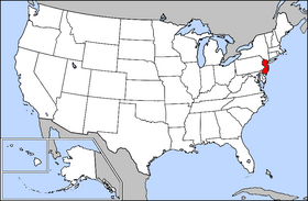 New Jersey Highlighted