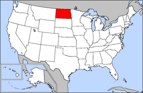 USA Geography North Dakota