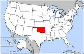 USA Geography Oklahoma