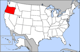 USA Geography Oregon