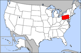 USA Geography Pennsylvania