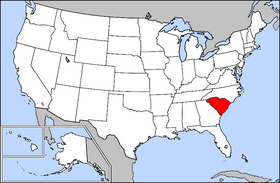 USA Geography South Carolina
