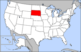 USA Geography South Dakota