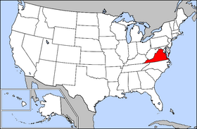 USA geography Virginia