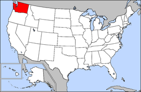 USA Geography Washington