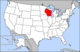 USA Geography Wisconsin