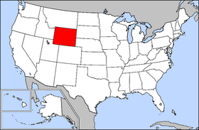 USA Geography Wyoming
