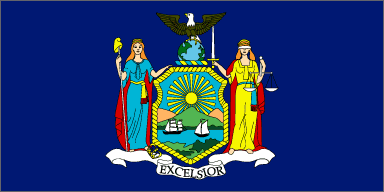 New York Geography State Flag