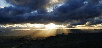 sunset GNU wikimedia