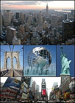 New York Geography New York City Montage