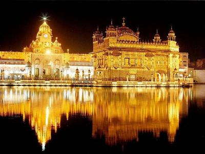 Holiest Sikh shrine the Golden Temple