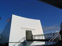 USS Arizona WWII Pearl Harbor Memorial